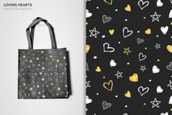 Loving Hearts Seamless Patterns Product Image 6