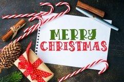 VIXEN - A festive Christmas font! Product Image 5