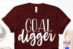 Goal digger - Women Entrepreneurship EPS SVG DXF PNG Product Image 4