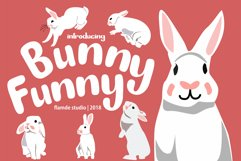 Bunny Funny   Playfull Font Product Image 1