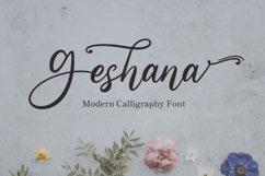 Geshana - Wedding Font Product Image 1