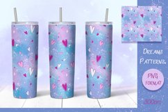 Dreams Patterns. Tumbler sublimation design Product Image 3