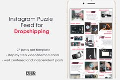 Instagram Puzzle Feed Template for Dropshipping #2 Product Image 1