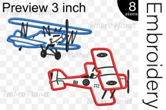 Old Planes Applique - Embroidery Files - 1475e Product Image 2