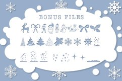 Christmas Mornings | Winter & Christmas Font with Extras Product Image 4