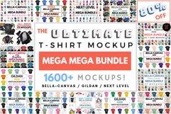 Ultimate TShirt Mockup Bundle Bella Canvas Gildan Next Level Product Image 1