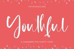 Youthful - Handwritten Script Font Product Image 1