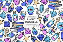Magic Doodle Cliparts Product Image 1