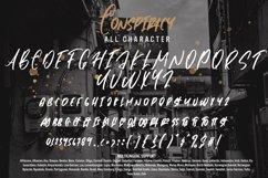 Conspiracy - Brush Font Product Image 6