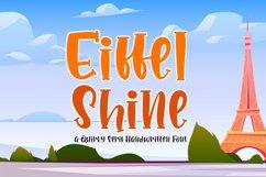 Eiffel Shine Cute Serif Handwritten Font Product Image 1