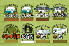 Roosell's Camping SVG Bundle Product Image 3