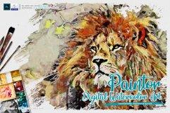 Paintor - Digital Watercolor Art | Photoshop Action Product Image 1