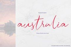 Australia Script Font Product Image 1