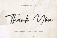 King Waller - Signature Font YR Product Image 6