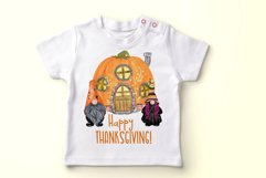 Gnomes clipart Thanksgiving clipart Halloween Kids clipart Product Image 3