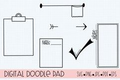 Procreate Stamp Brushes Journaling, Scrapbooking, Doodling Product Image 2
