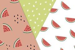 Watermelon Seamless patterns Product Image 2