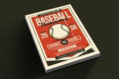 Baseball Tournament Flyer Product Image 2