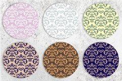 Vintage elements and seamless patterns. Crown and wreath Product Image 4
