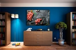 20 Photos Cut raw beef with spices. Raw beef background Product Image 3