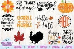 Thanksgiving SVG Bundle | 30 Designs Product Image 3