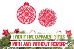 Christmas Ornament Dingbat Font Product Image 2