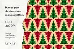 Christmas Tree Pattern, Buffalo Plaid Graphic Product Image 1