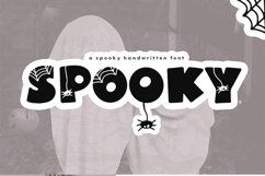 Spooky - A Quirky Halloween Font Product Image 2