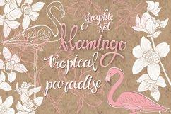 Flamingo. Tropical paradise. Product Image 1