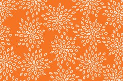 Orange Patterns Digital Paper Product Image 2