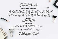 Berlliont a Handwitting Font Product Image 5