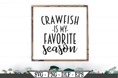 Crawfish Is My Favorite Season SVG Product Image 1