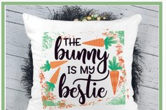 The Bunny My Bestie Easter Sublimation Design Product Image 2
