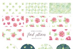 Watercolor Peonies set Product Image 5