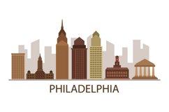 Philadelphia skyline Product Image 1