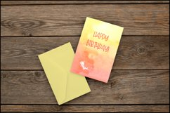 Orange Backgrounds , Sublimation Watercolor Background PNG Product Image 4