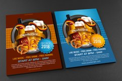 Oktoberfest Flyer Template - Vector Product Image 2