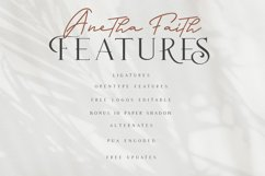 Anetha Faith Font Duo - Extras Logo Template Product Image 3