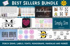 Best Sellers Bundle - SVGs, Fonts, Monograms, and more! Product Image 1