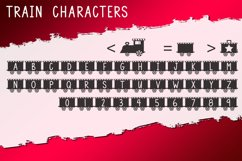 Christmas Train - A Fun Holiday Font Product Image 5