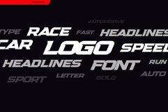 Headline Speed Font Product Image 5