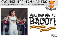You Had Me At Bacon Keto Diet SVG Product Image 1