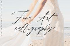 Lillian Melody / Fine Art Chick Font Product Image 2