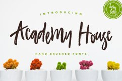 Academy House Font + Logos Product Image 1