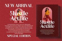 Hustle Actlife - Beautiful Serif Font Product Image 14