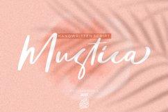 Mustica Handwritten Script Product Image 1