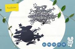 Rocket svg, Planet cut file, Space svg, Rocket clipart Product Image 5