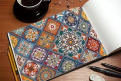 Ethnic tile seamless pattern collection Product Image 2