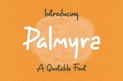 Web Font Palmyra - Quotable Font Product Image 1