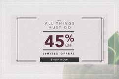 GRUNGE Facebook sale and quote pack Product Image 6